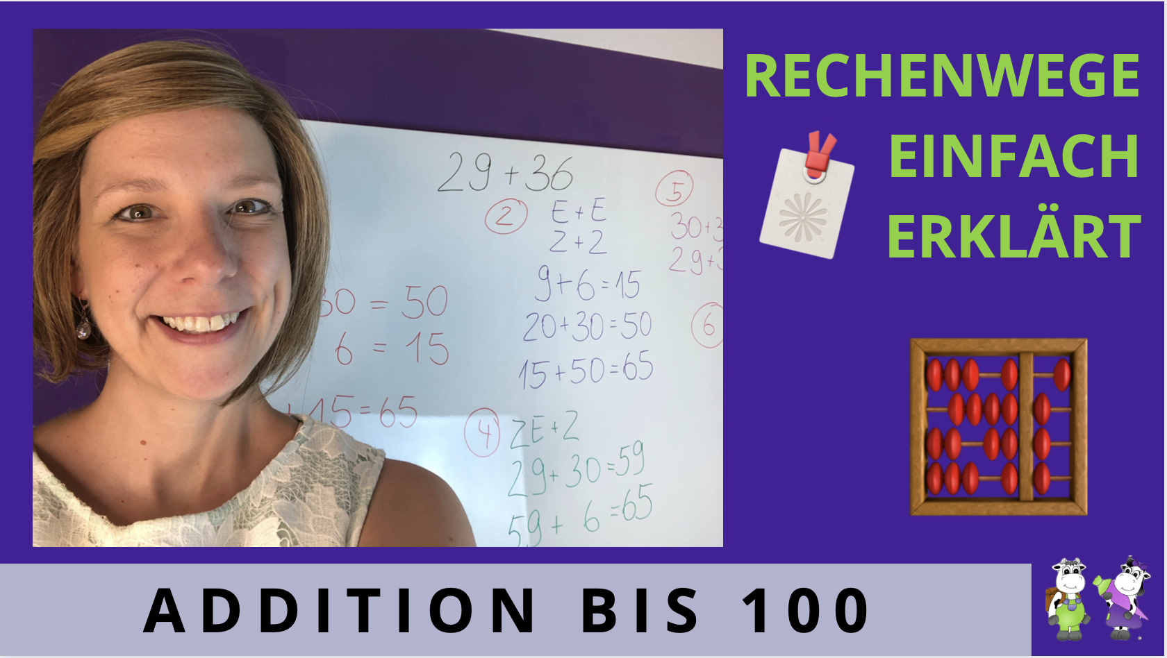 Addition bis 100