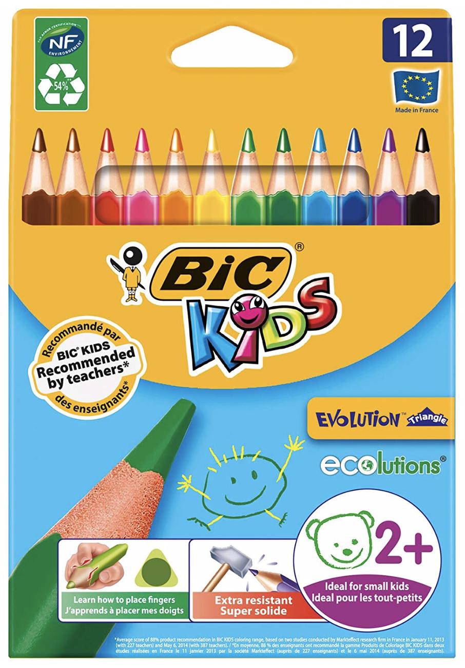 Gute Buntstifte für die Schule