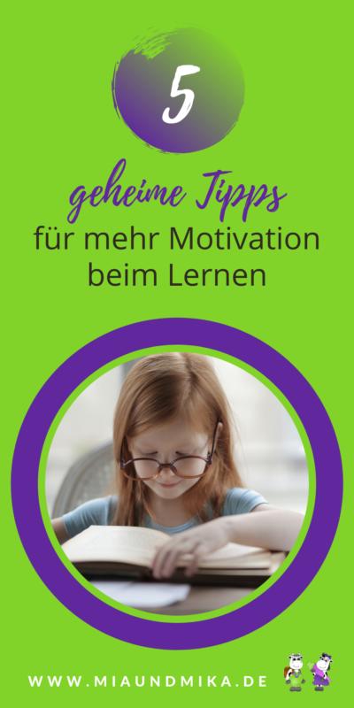 Kind zum Lernen motivieren
