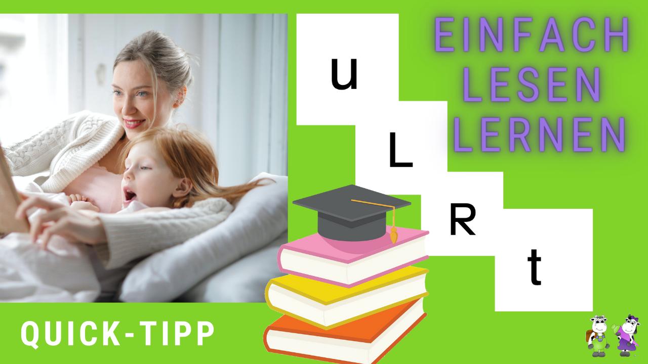 Kind Lesen beibringen