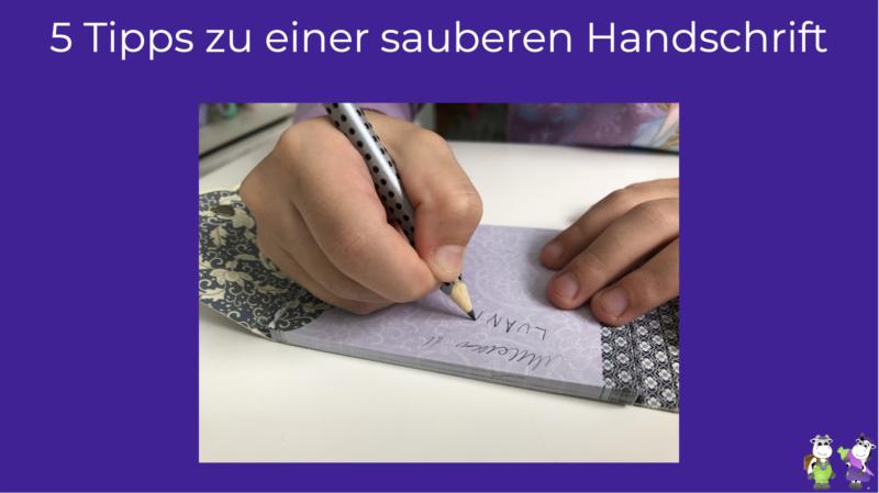 Saubere Handschrift