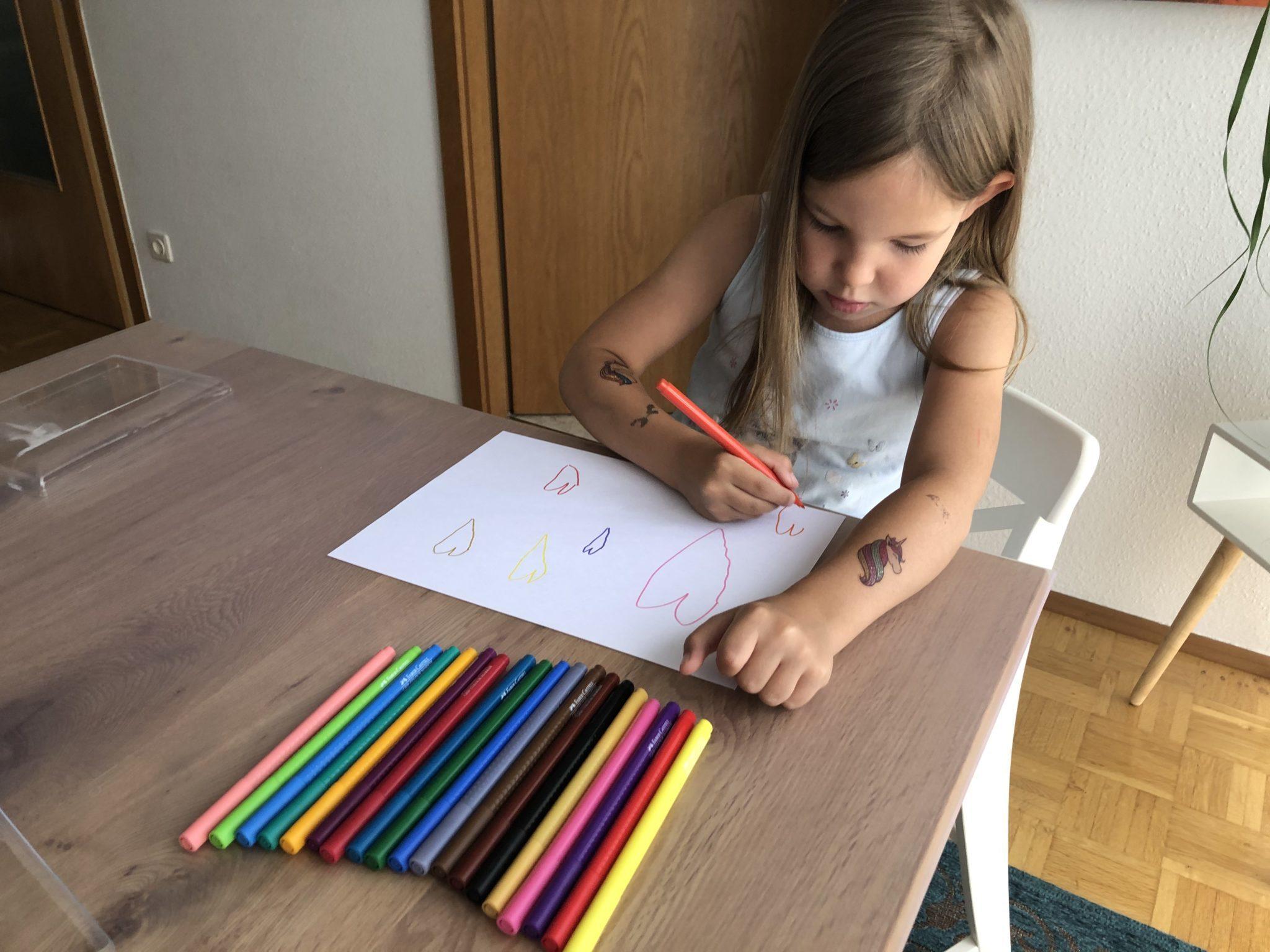 Stifthaltung lernen