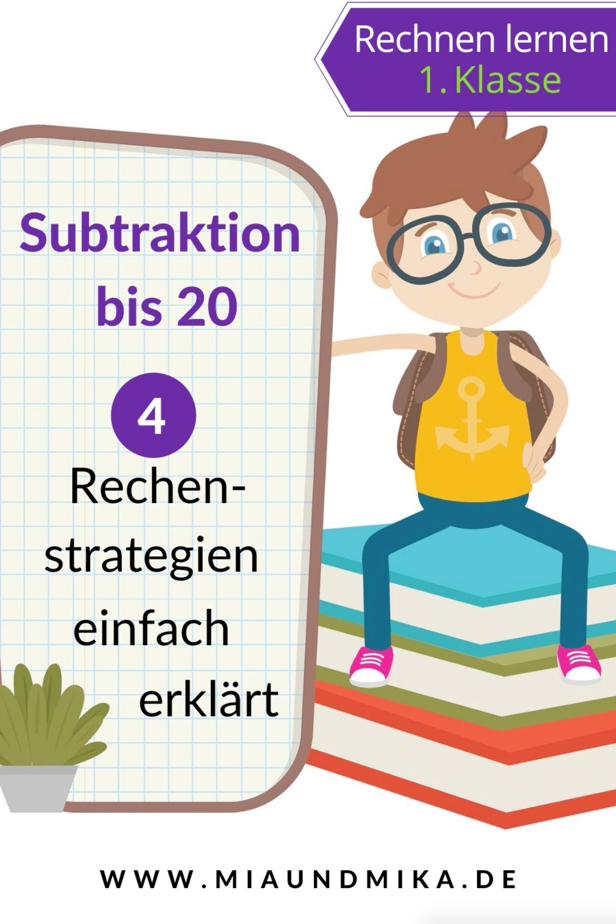 Subtraktion Klasse 1