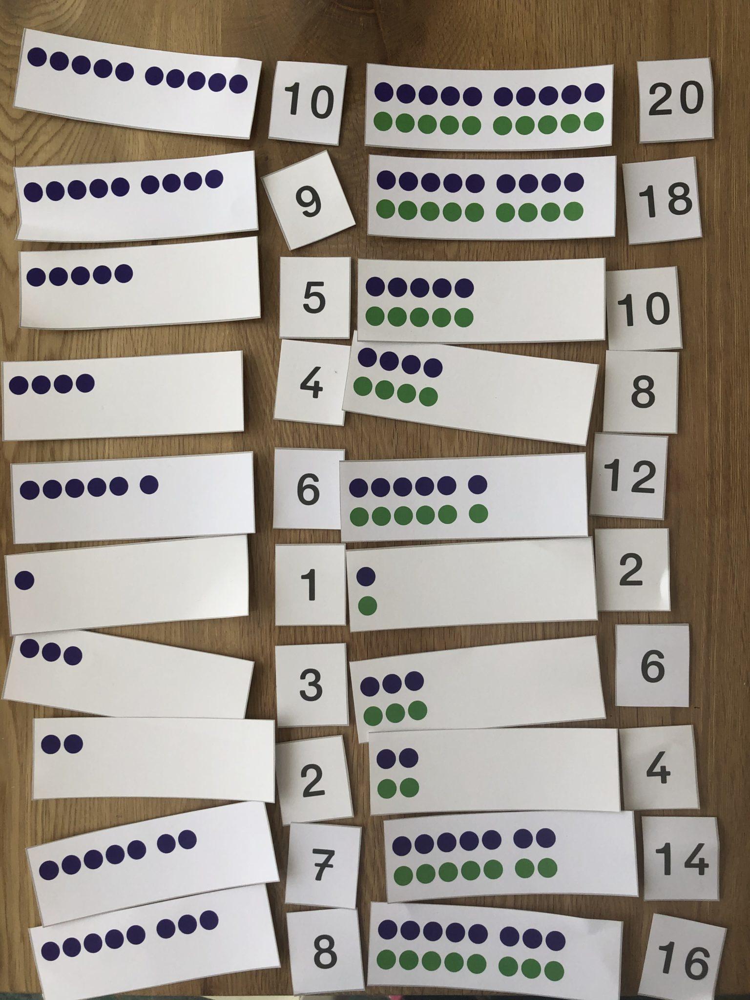 Verdoppeln Klasse 1 Spiel