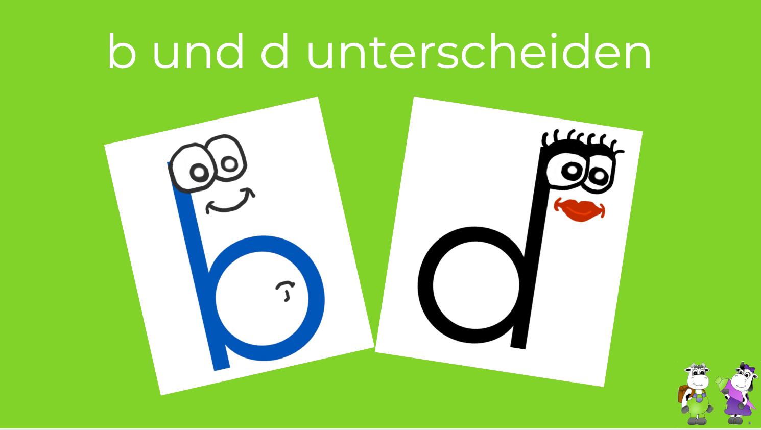 b und d unterscheiden