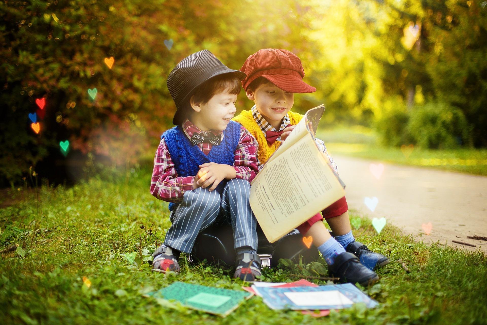 Kinder lernen gerne